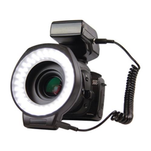Foto Illuminatore Circolare Konig Per Fotocamere Reflex Camera Ring Light 60 Led Bianchi  52-72Mm Attrezzature Foto e Video