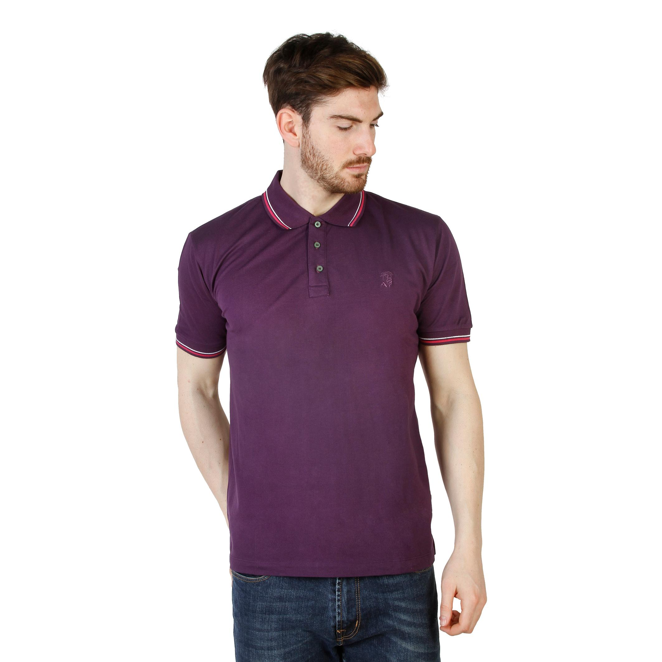 Polo Uomo Primavera/Estate Trussardi 2AT49 Colore: Viola - XL/ - trussardi - giordanoshop.com