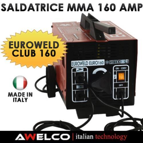 Foto SALDATRICE AWELCO EUROWELD MMA 160 AMP MADE IN ITALY Saldatrici