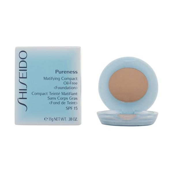 Foto Shiseido - Pureness Matifying Compact 30-Natural Ivory 11 Gr giordanoshop.com Cosmetici per Donne