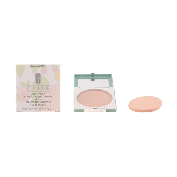 Foto Clinique - Stay Matte Sheer Powder 02-Stay Neutral 7.6 Gr giordanoshop.com Trucco e Make-Up