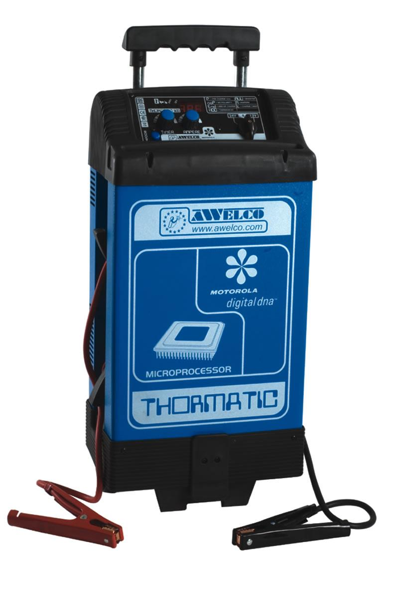 Image of Caricabatteria Avviatore Professionale 12-24V 1Ph Awelco Thormatic 500A
