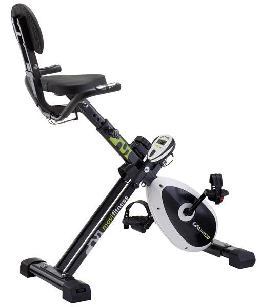 Image of Cyclette Orizzontale Recumbike Magnetica 100Kg Max 8 Livelli Movi Fitness Mf620