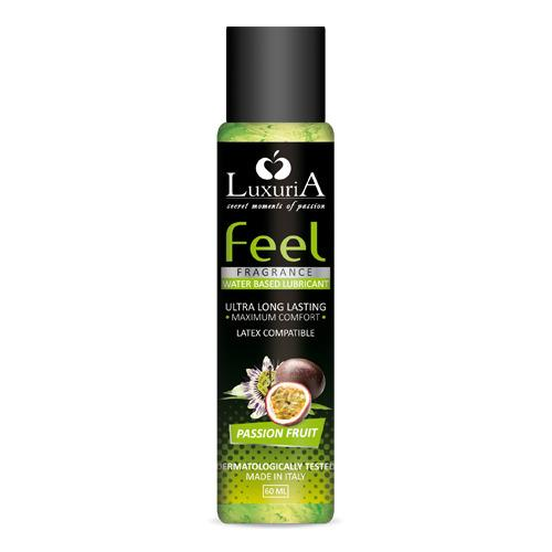 Image of Lubrificante Intimo Feel Fragrance Passion Fruit 60 Ml Luxuria