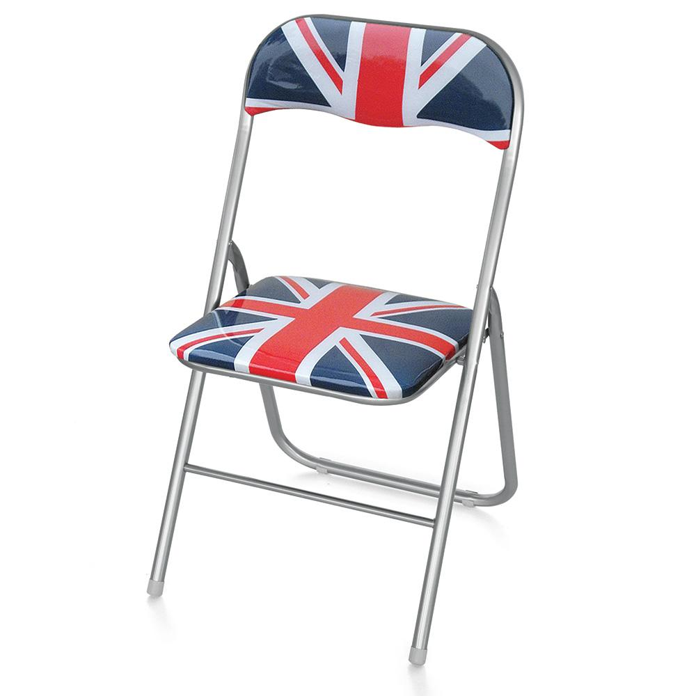 Image of Sedia Pieghevole In Metallo Lanni London Chair