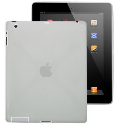 Image of Custodia Back Cover In In Silicone Per Ipad 2 Trasparente