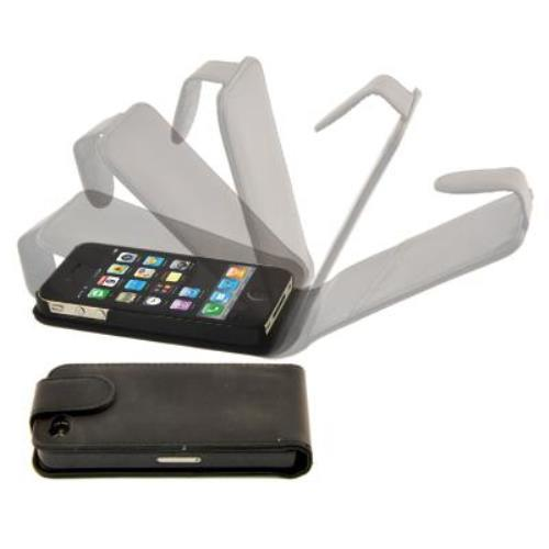 Image of Custodia Verticale Magnetica Per Iphone 4 Nera