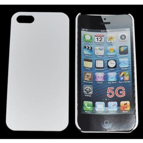 Image of Custodia Back Cover Rigida In Plastica Per Iphone 5 Bianca