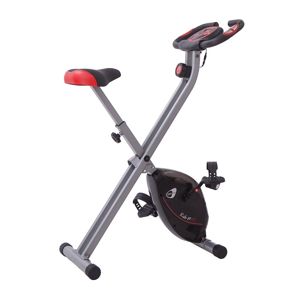 Image of Cyclette Manuale Pieghevole 8 Livelli 100Kg Max GetFit Ride F192
