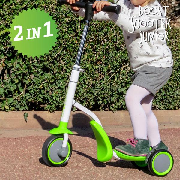 Image of Monopattino-Triciclo Boost Scooter Junior 2 In 1 (3 Ruote)
