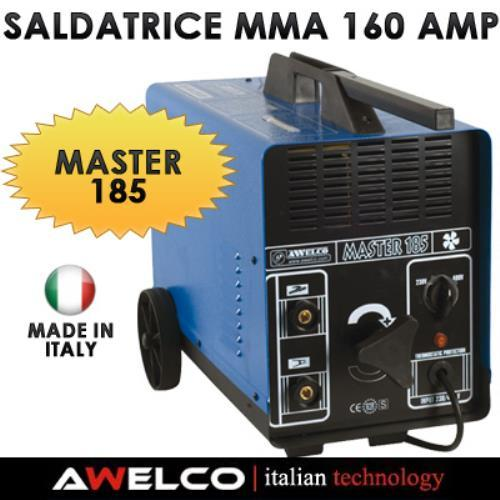 Foto SALDATRICE MMA 160 AMP AWELCO MASTER 185 MADE IN ITALY Saldatrici