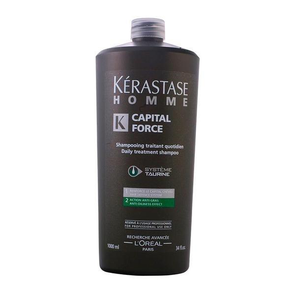Foto Kerastase - homme capital force shampooing traitant quotidien 1000 ml Giordanoshop.com Acconciatura