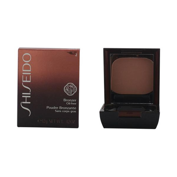 Foto Shiseido - Bronzer Oil-Free Powder 02 Medium Naturel 12 Gr giordanoshop.com Trucco e Make-Up