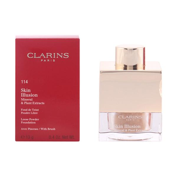 Foto Clarins - Skin Illusion Powder 114-Cappuccino 13 Gr giordanoshop.com Trucco e Make-Up