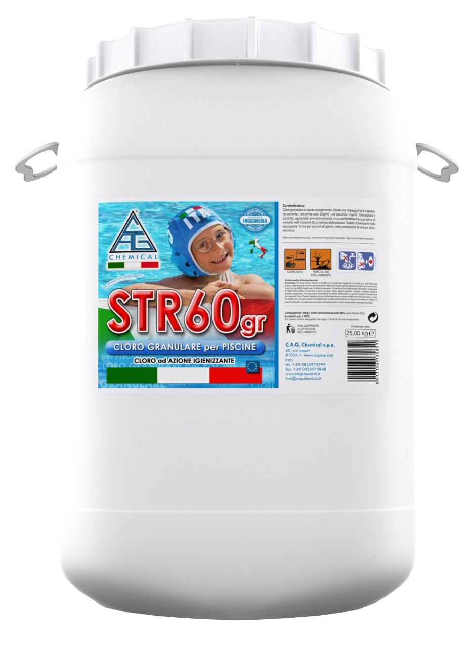 Image of Cloro in Polvere per Piscina 25 Kg Cag Chemical STR60