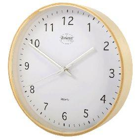 Foto Wall Clock 25 Cm Analogue Beige / White Giordanoshop.com Orologi da Parete