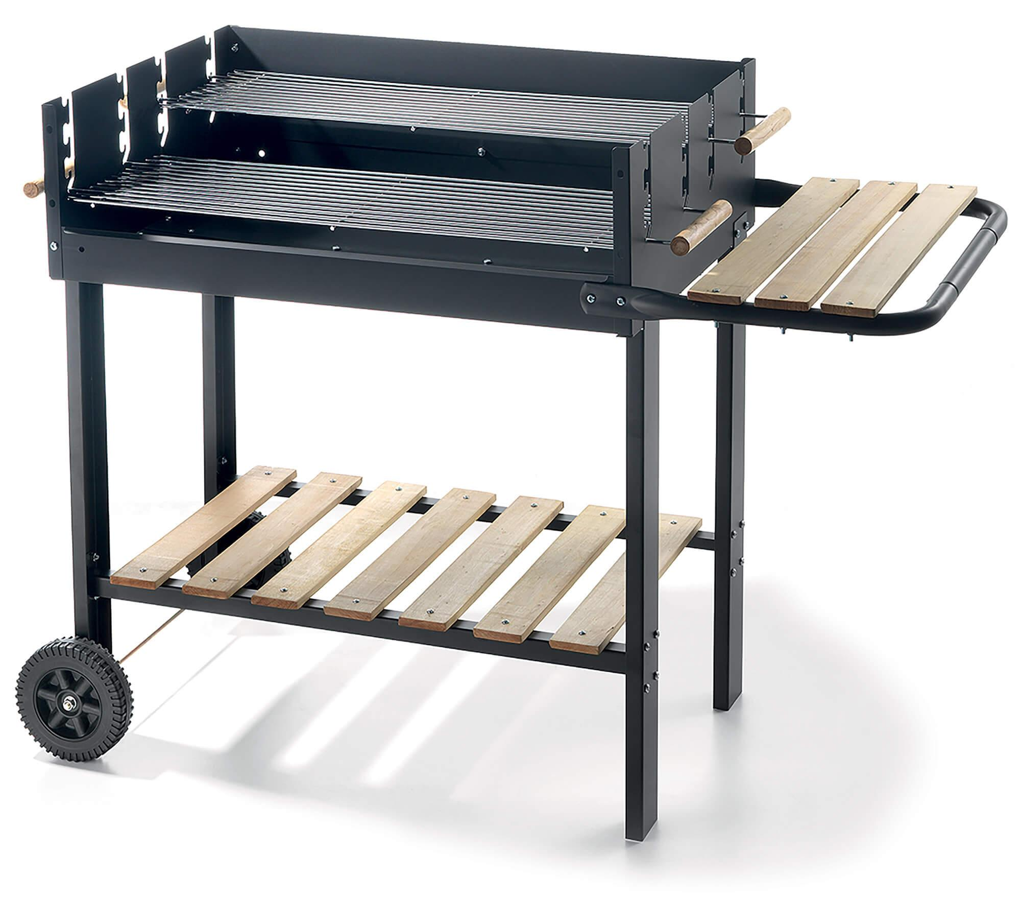 Image of Barbecue a Carbone Carbonella in Acciaio Ompagrill 70-47 Eco