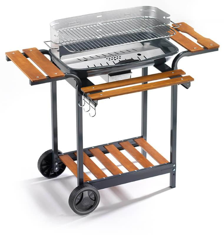 Image of Barbecue a Carbone Carbonella in Acciaio Ompagrill 60-40/Alc