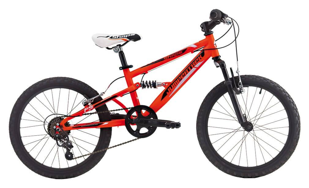 "Image of Bicicletta Mountain Bike MTB Bambino 20"" H28 6V Cicli Cinzia Shape Boy Hi-Tension 20 Arancio Opaco"