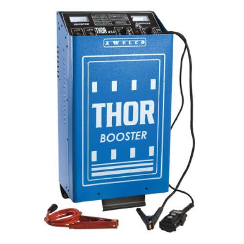 Foto CARICABATTERIE AVVIATORE THOR 450 CON TELECOMANDO AWELCO MADE IN ITALY Caricabatterie ed Inverter
