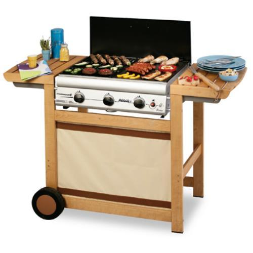 Foto BARBECUE A GAS SISTEMA AUSTRALIANO CAMPINGAZ ADELAIDE 3 WOODY