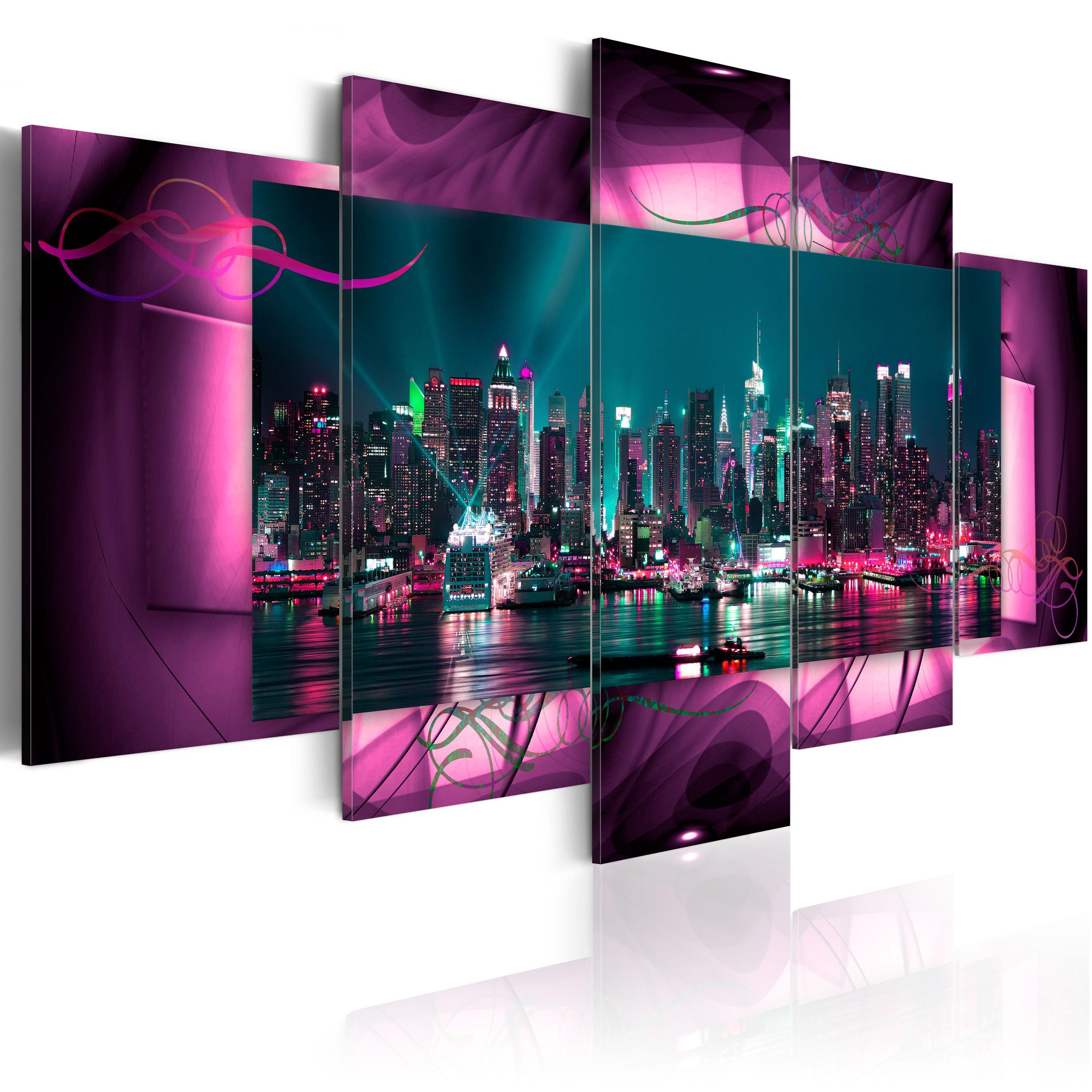 Image of Quadro - Manhattan 200X100Cm Erroi