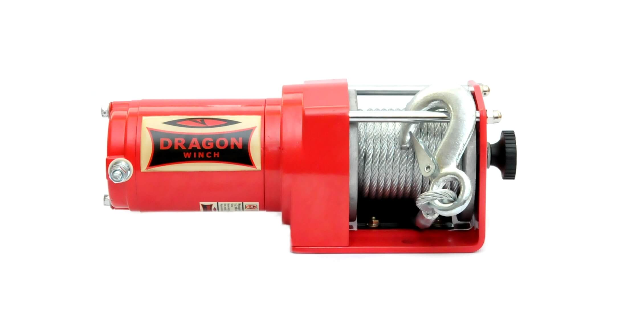 Image of Verricello Elettrico 0,9hp 12V 10m per ATV Dragon Winch Maverick DWM 2500 ST