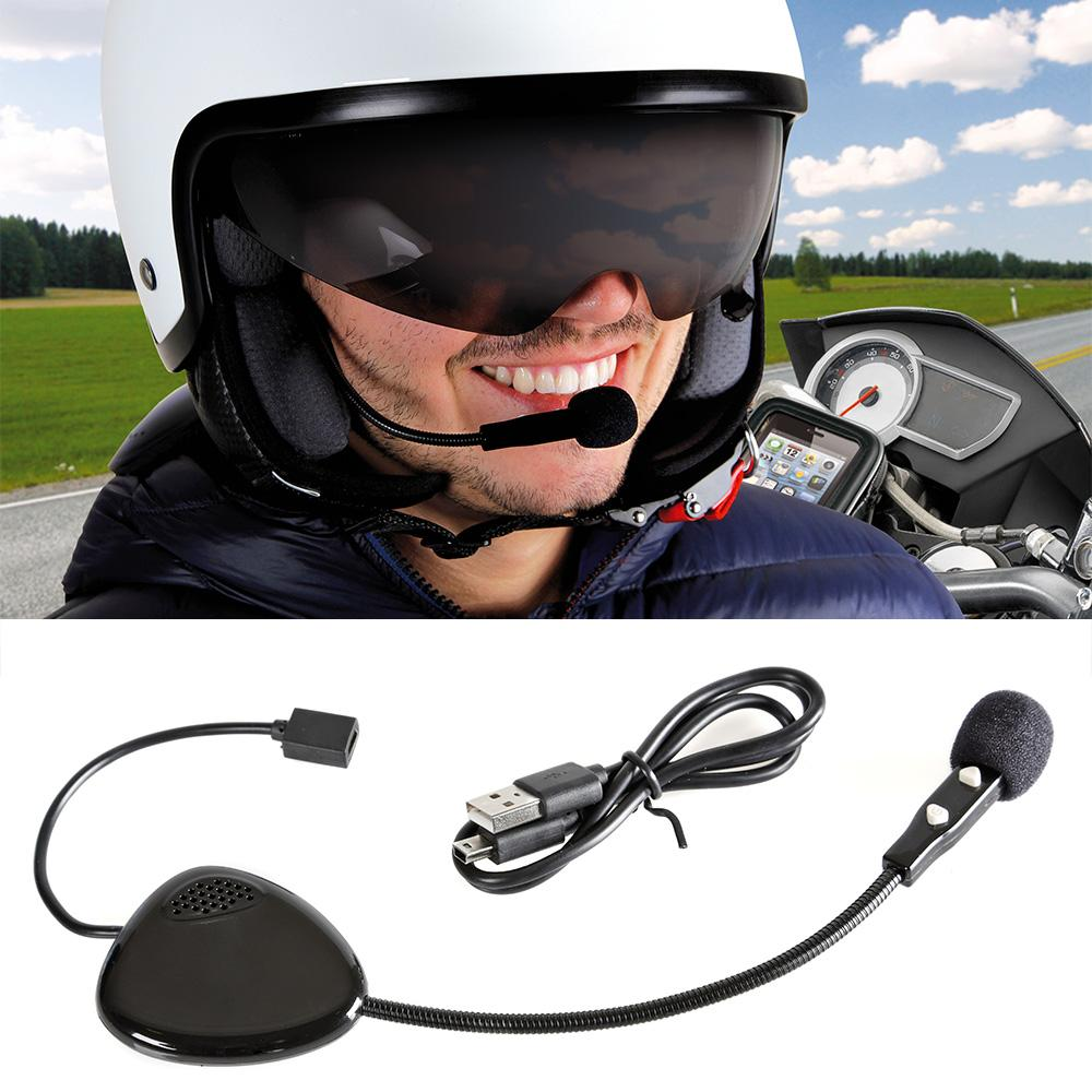 Foto AURICOLARE BLUETOOTH PER CASCO COMPATIBILE IPHONE SMARTPHONE GPS TALK-MATE 10 Lampa Accessori per Auto e Moto
