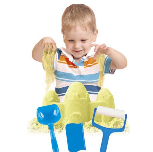 Image of SABBIA MAGICA MODELLABILE PER BAMBINI KINETIC SAND CON ACCESSORI
