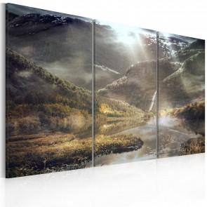 Quadro - The Land Of Mists - Triptych Erroi