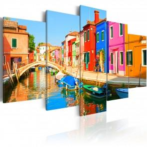Quadro - Waterfront In Rainbow Colors Erroi