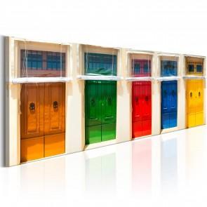 Quadro - Colourful Doors Erroi