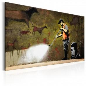 Quadro - Cave Painting By Banksy Erroi