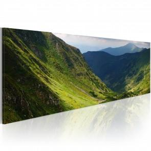 Quadro - Canvas Print - In The Valley Of The Mountain 120x40cm Erroi