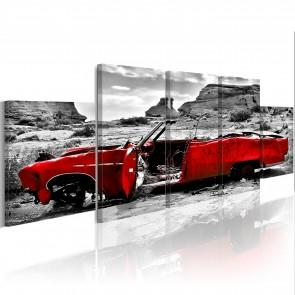 Quadro - Red Banger - Retro Style 100x30cm Erroi