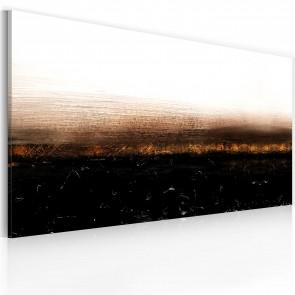 Quadro Dipinto - Black Soil - Abstraction 120x60cm Erroi