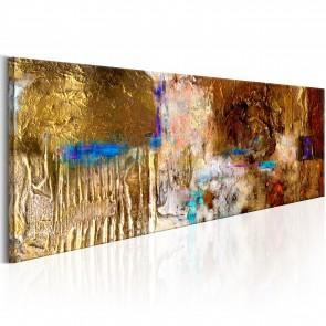 Quadro Dipinto - Golden Structure 120x40cm Erroi