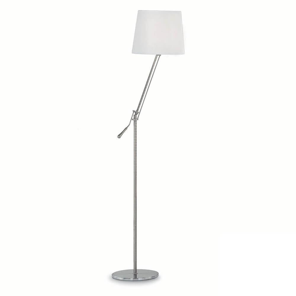 Lampada da terra 60W E27 Ideal Lux Nickel