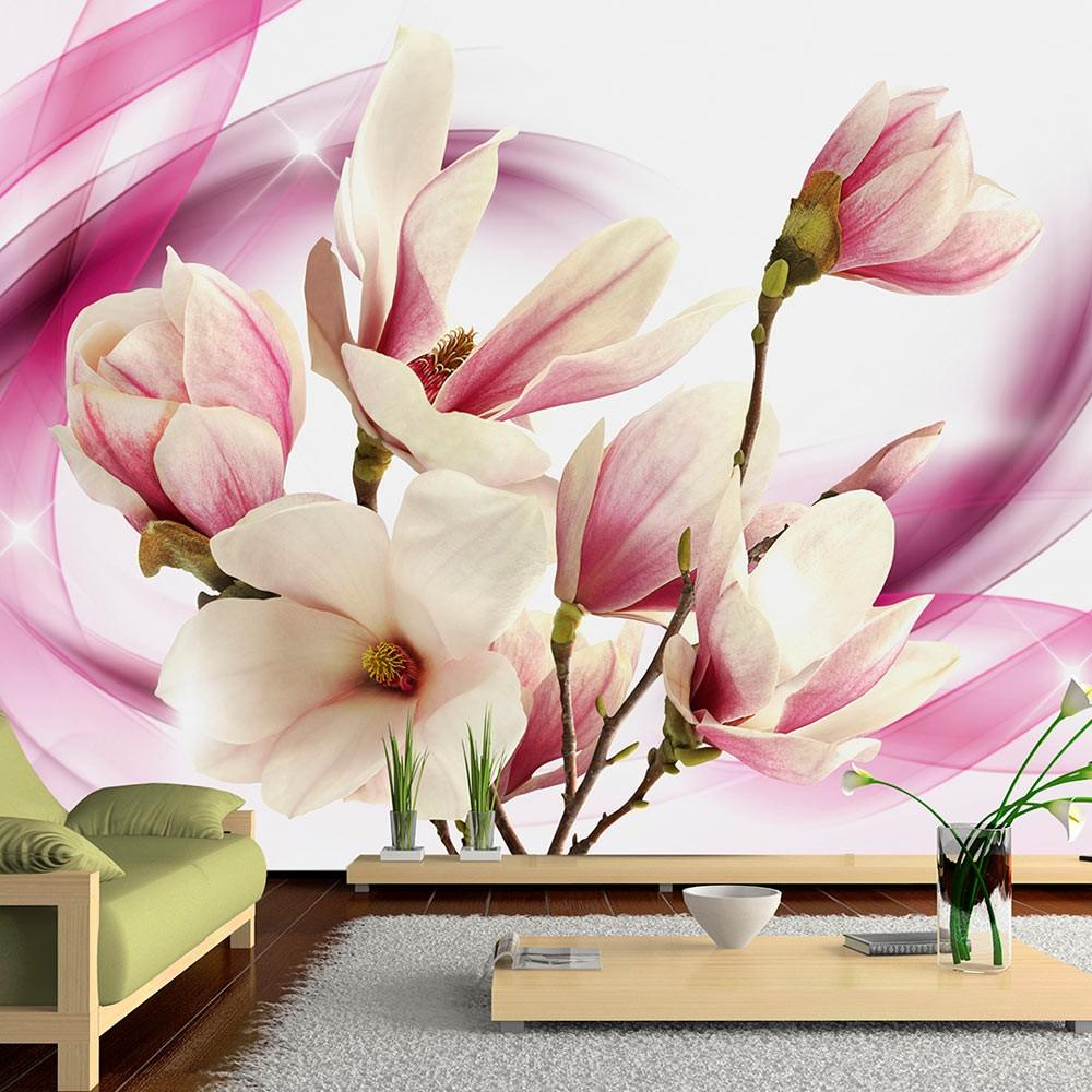 Fotomurale - Power Of Magnolia 300X210Cm Carta Da Parato Erroi