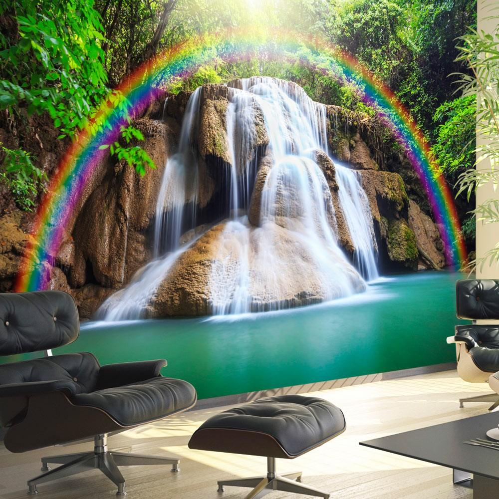 Fotomurale - Waterfall Of Fulfilled Wishes 400X280Cm Carta Da Parato Erroi