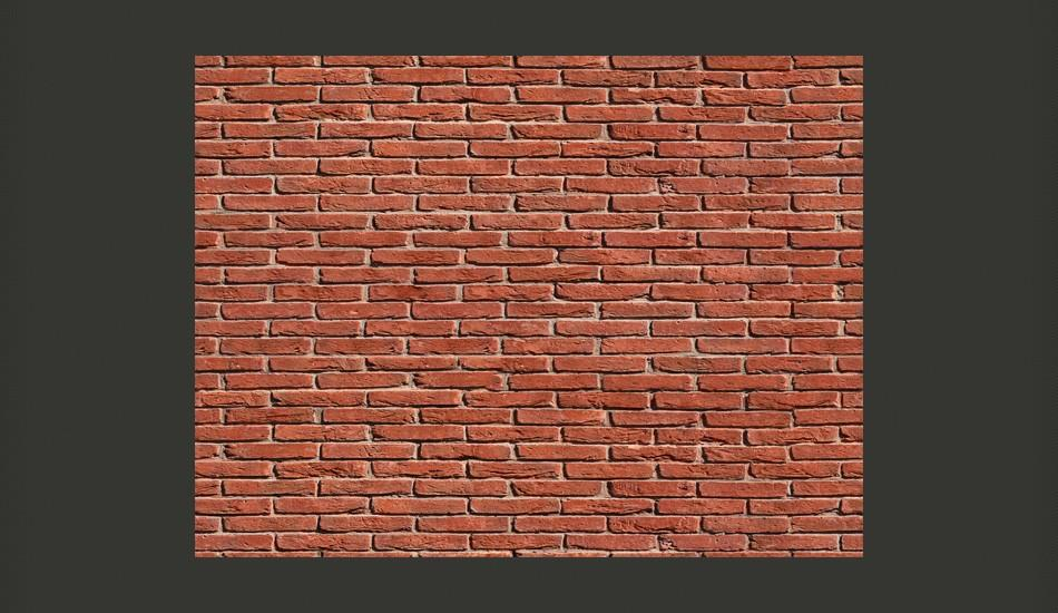 Fotomurale - Brick - Simple Design 400X309Cm Carta Da Parato Erroi