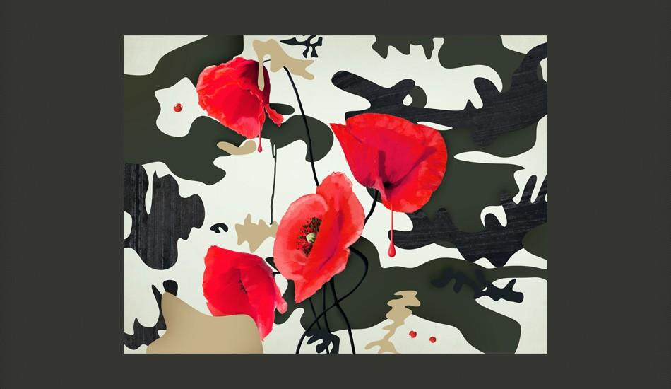 Fotomurale - The Flowers Of War 350X270Cm Carta Da Parato Erroi