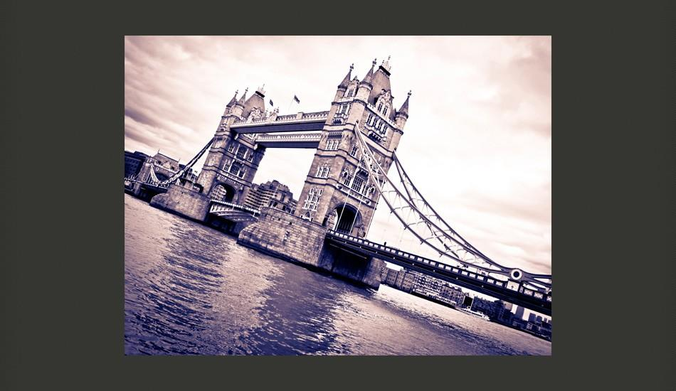 Fotomurale - Tower Bridge 200X154Cm Carta Da Parato Erroi