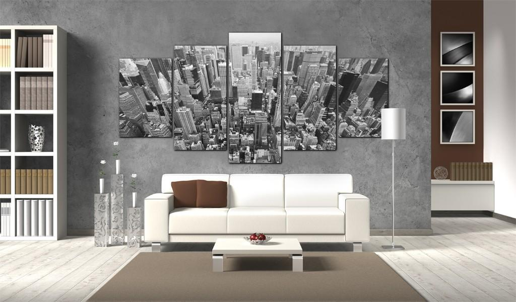 Quadro - Grattacieli Di New York 100X50Cm Erroi
