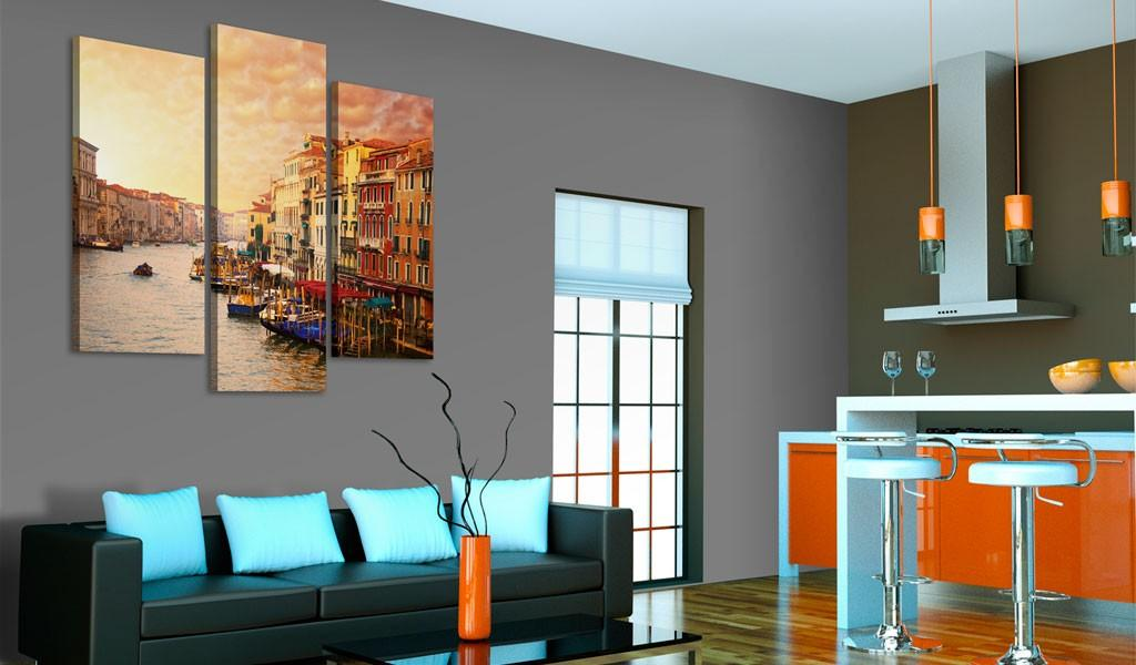 Quadro - Splendore Di Venezia 120X100Cm Erroi