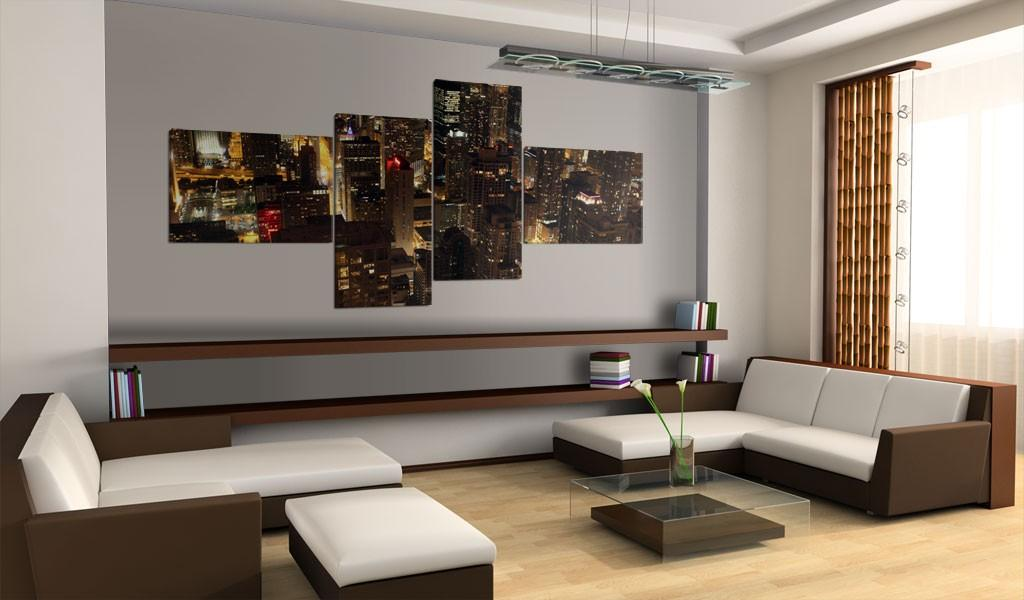 Quadro - Luci Di Chicago 200X90Cm Erroi