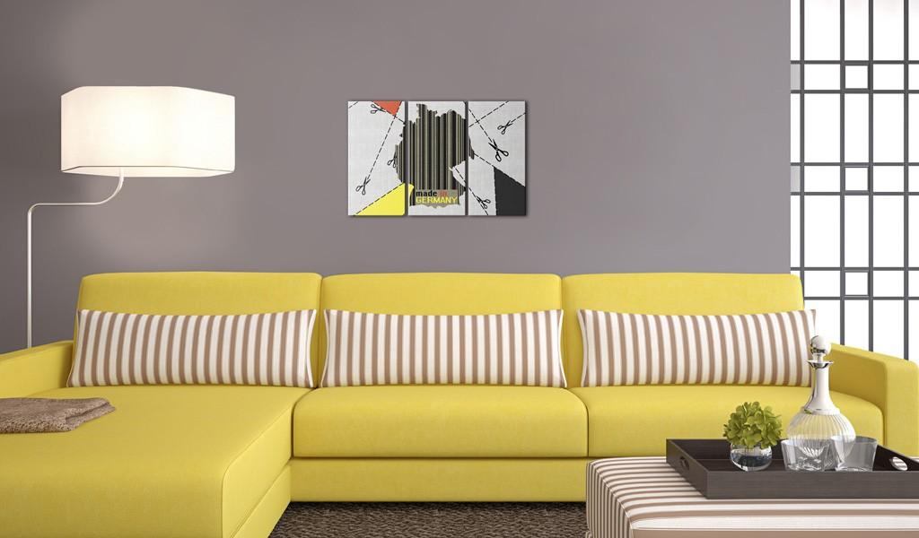 Quadro - Made In Germany - Trittico 120X80Cm Erroi