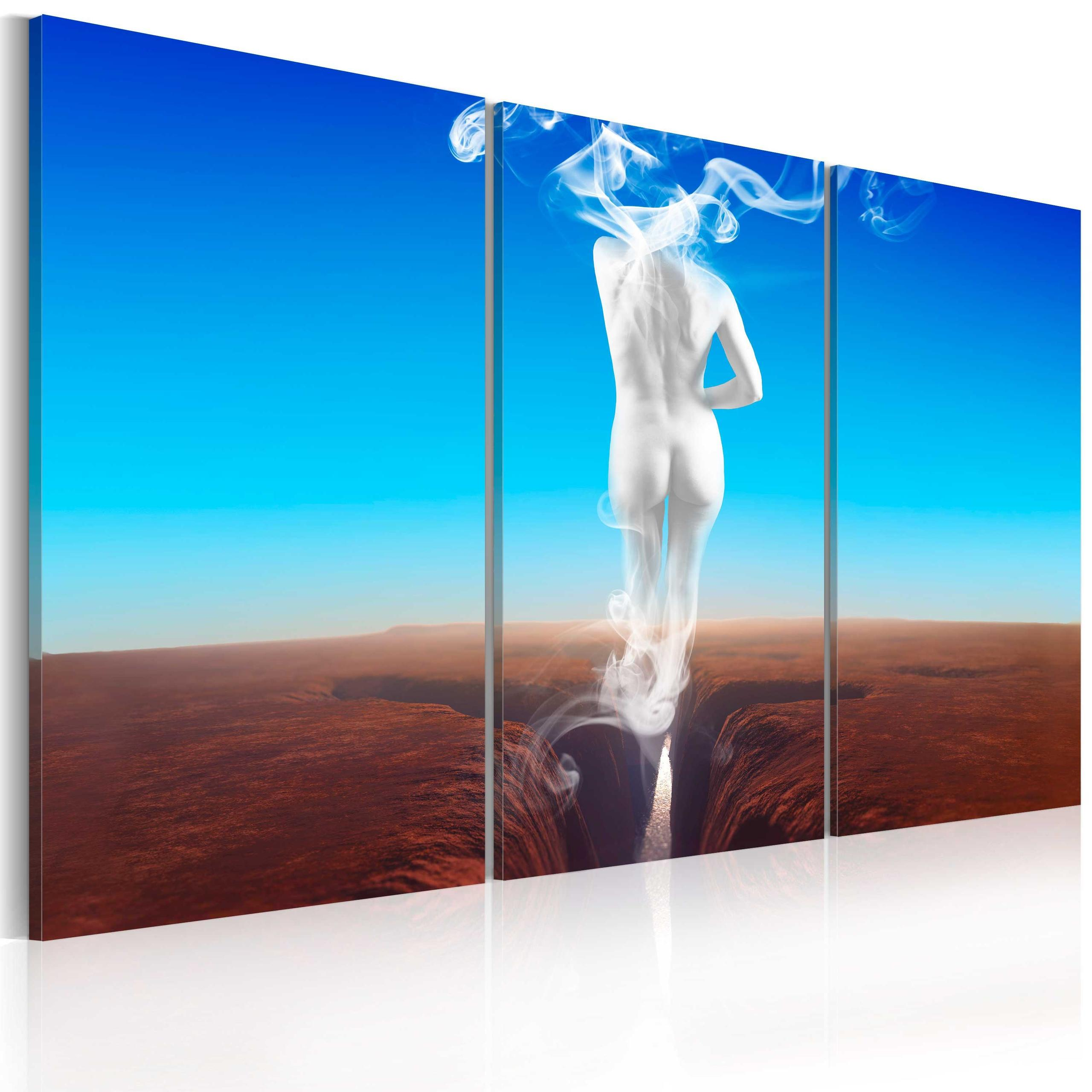 Quadro - Creation Of Woman - Triptych 60X40Cm Erroi