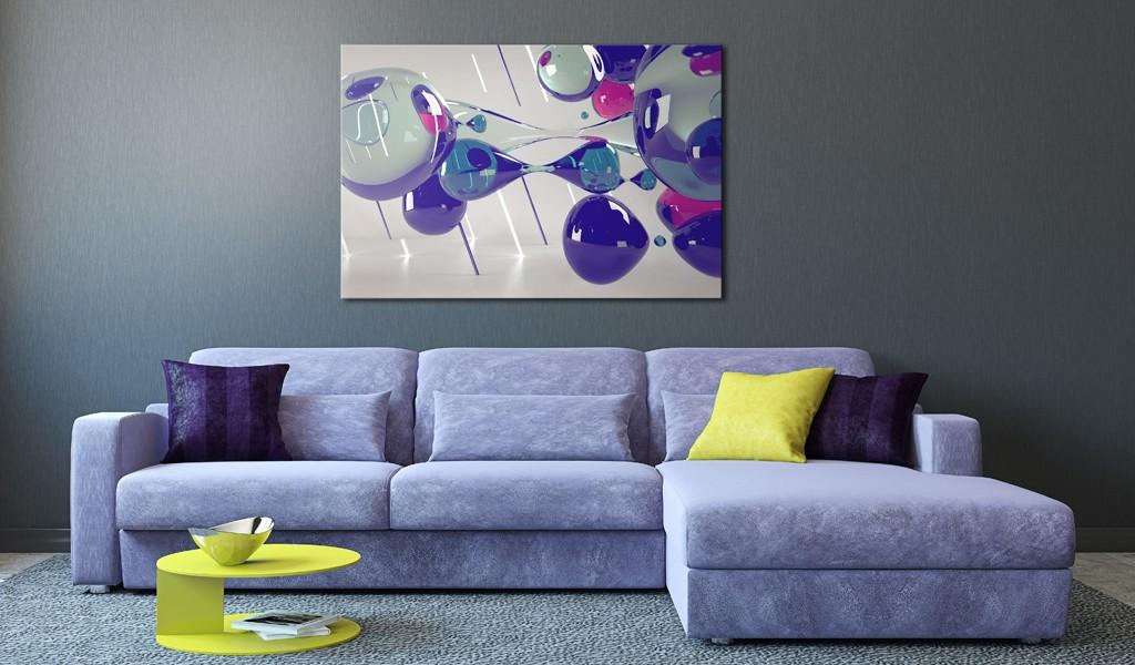 Quadro - Glass Bubbles 90X60Cm Erroi