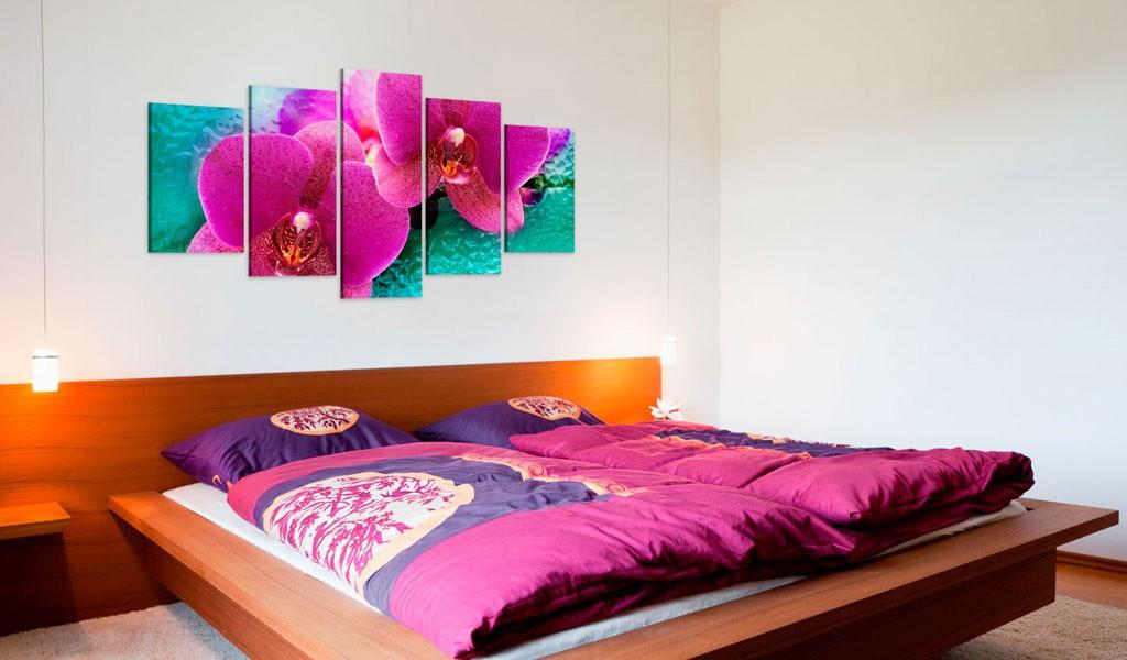 Quadro - Exotic Orchids 200X100Cm Erroi